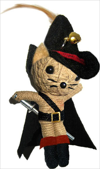 VOODOO DOLLS ONCE UPON A TIME - LE CHAT BOTTE