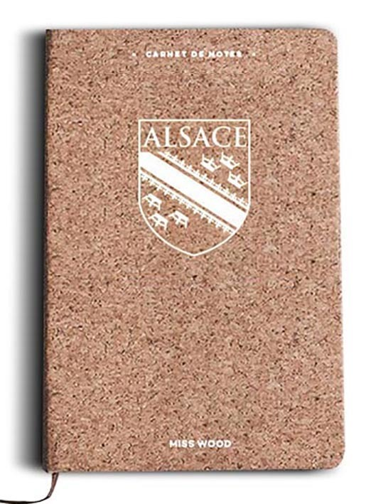 ALSACE CARNET DE NOTES EN LIEGE