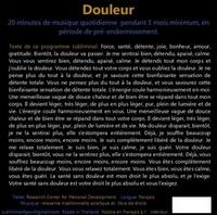 PROGRAMME SUBLIMINAL AUDIO - DOULEUR