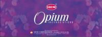 ENCENS OPIUM - 20 GRS - HEM - LOT DE 6 BOITES