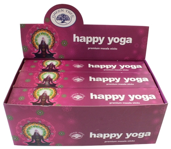 ENCENS GREEN TREE HAPPY YOGA - 15 GRS