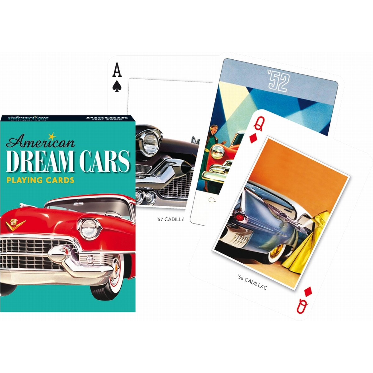 AMERICAN DREAM CARS - 55 CARTES