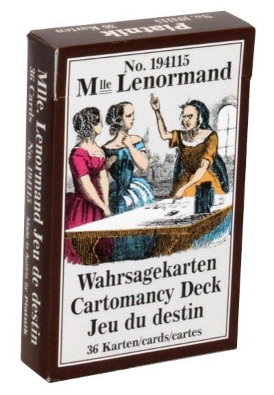MLLE. LENORMAND - CARTOMANCIE