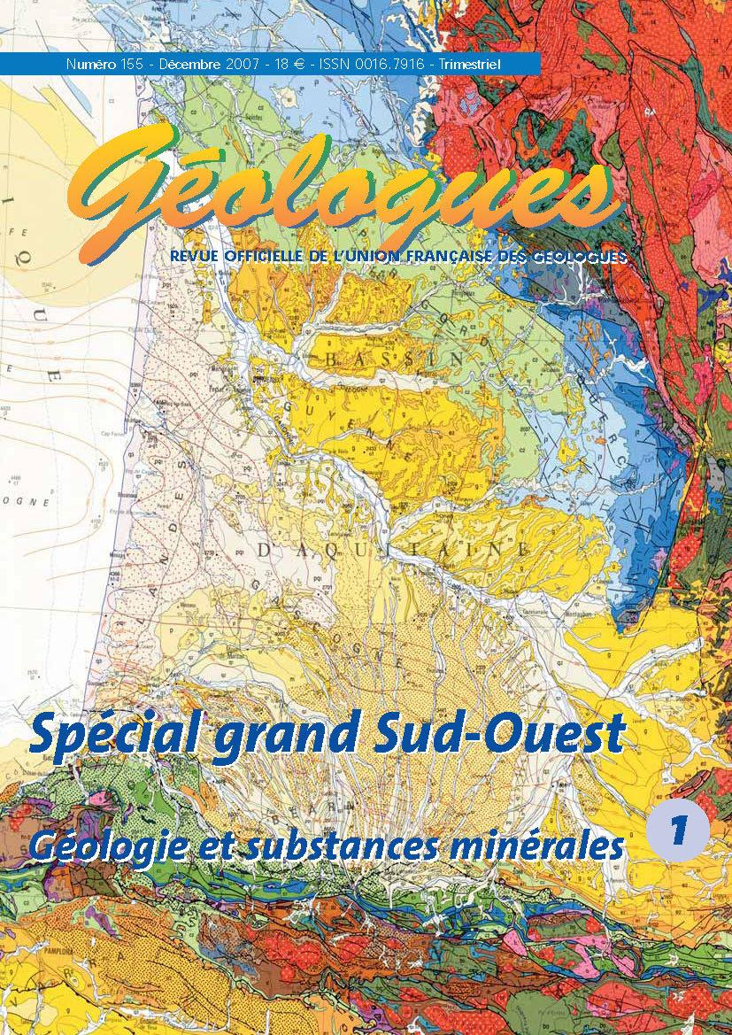 SPECIAL GRAND-OUEST 1 : GEOLOGIE ET SUBSTANCES MINERALES