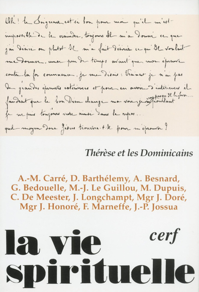 THERESE ET DOMINICAINS VS723