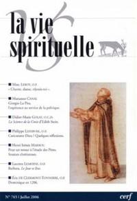 LA VIE SPIRITUELLE N  765
