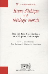 N271 REVUE D ETHIQUE ET DE THEOLOGIE MORALE 271