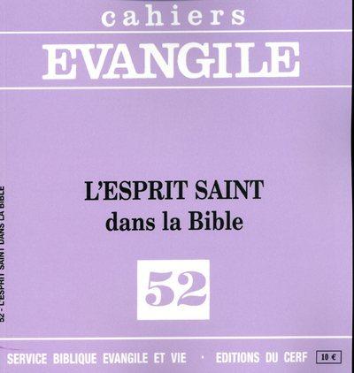 CE-52. L'ESPRIT SAINT DANS LA BIBLE