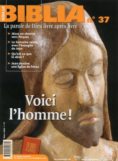BIBLIA 37 - VOICI L'HOMME