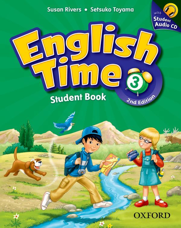 ENGLISH TIME, SECOND EDITION 3: STUDENT BOOK AND AUDIO CD