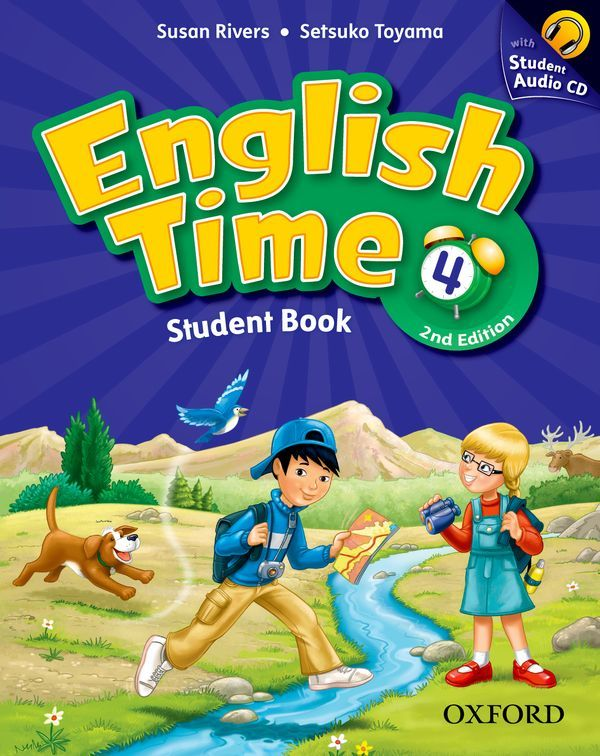 ENGLISH TIME, SECOND EDITION 4: STUDENT BOOK AND AUDIO CD