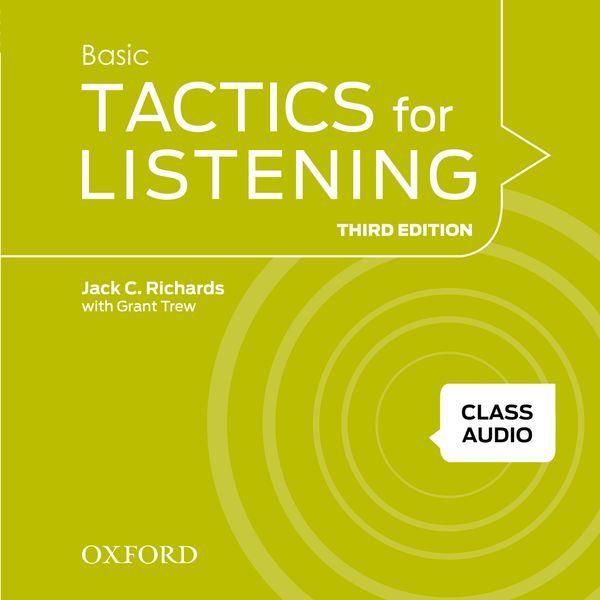 TACTICS FOR LISTENING (THIRD EDITION) BASIC: CLASS AUDIO CDS (3)