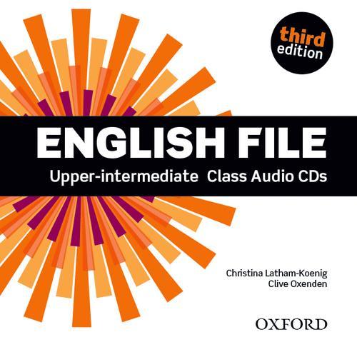 ENGLISH FILE 3RD EDITION UPPER INTERMEDIATE: CLASS AUDIO CD (4)