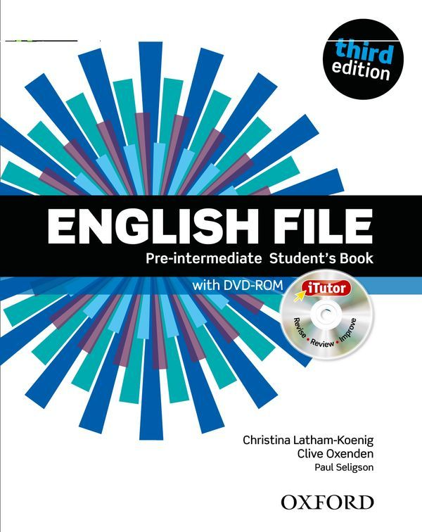 ENGLISH FILE 3RD EDITION PRE-INTERMEDIATE: STUDENT'S BOOK & ITUTOR PACK