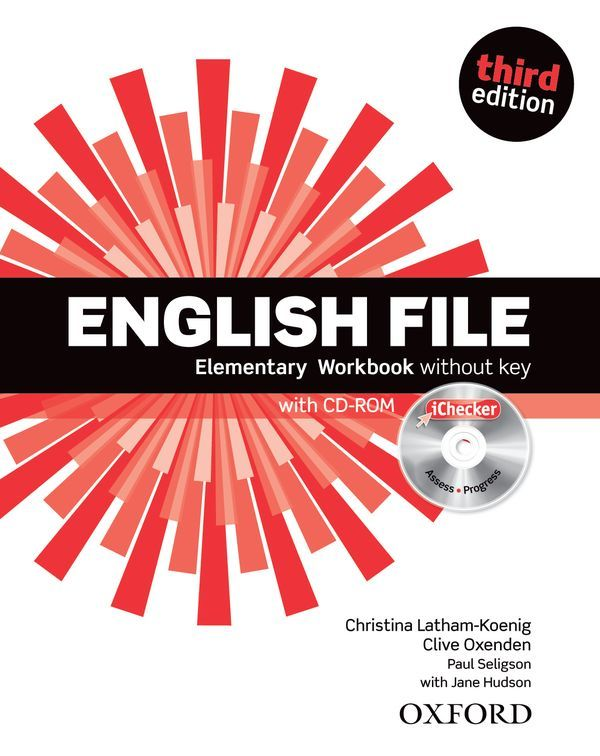 ENGLISH FILE 3RD EDITION ELEMENTARY: WORKBOOK & ICHECKER PACK WITHOUT KEY