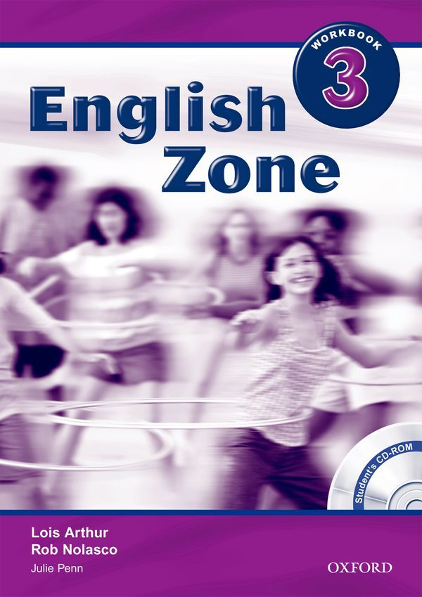 ENGLISH ZONE 3: WORKBOOK WITH CD-ROM PACK