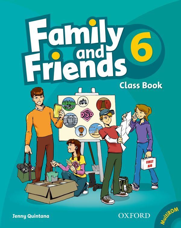 FAMILY & FRIENDS 6: CLASS BOOK AND MULTIROM PACK