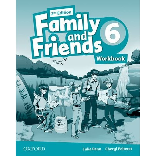 FAMILY & FRIENDS 2E: 6 WORKBOOK