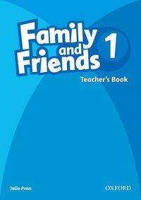 FAMILY & FRIENDS 1: TEACHER'S BOOK