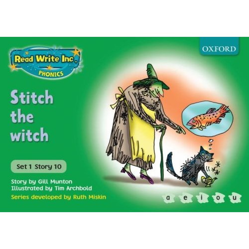STITCH THE WITCH - GREEN 1