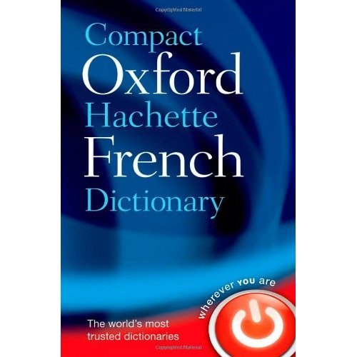 Dictionnaire compact oxford french