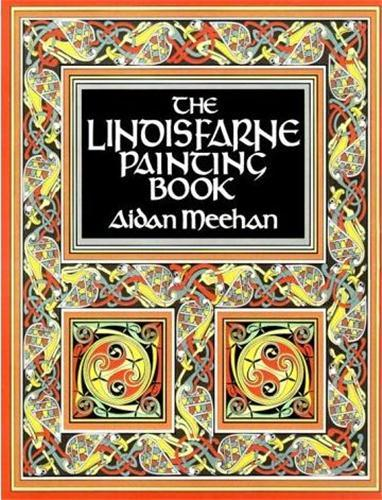 THE LINDISFARNE PAINTING BOOK /ANGLAIS