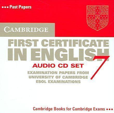 CAMBRIDGE FIRST CERTIFICATE IN ENGLISH 7 STUDENT BOOK