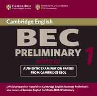 CAMBRIDGE BEC PRELIMINARY 1 CD