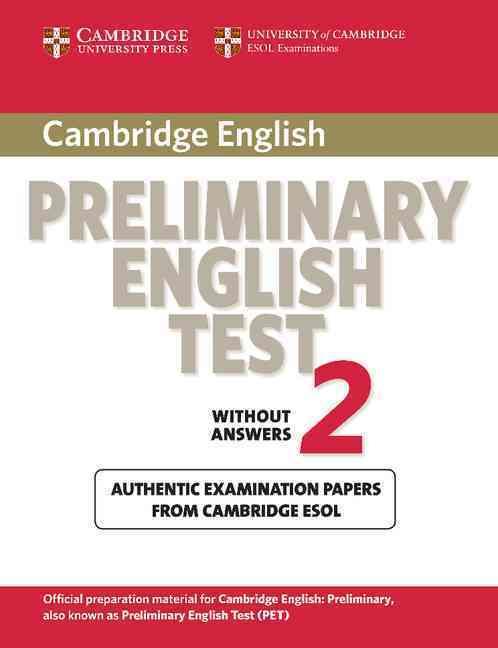 CAMBRIDGE PRELIMINARY ENGLISH TEST 2 STUDENT BOOK