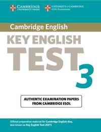 CAMBRIDGE KEY ENGLISH TEST 3 STUDENT BOOK