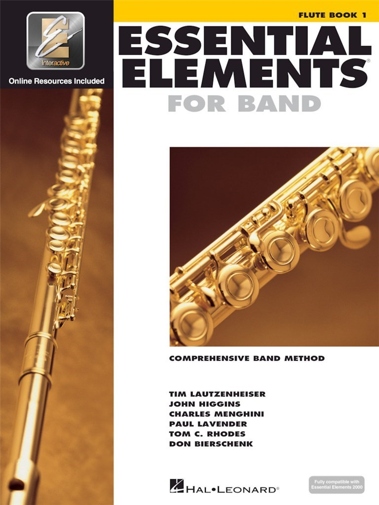 ESSENTIAL ELEMENTS FOR BAND - BOOK 1 WITH EEI FLUTE TRAVERSIERE +ENREGISTREMENTS ONLINE