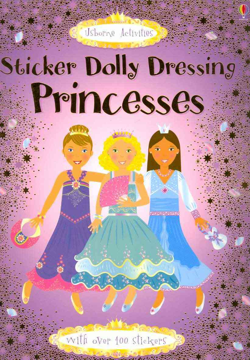 STICKER DOLLY DRESSING - PRINCESSES