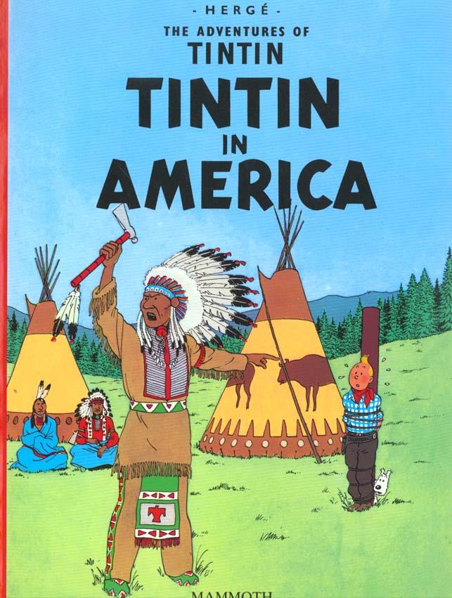 TINTIN EN AMERIQUE (EGMONT) - ANGLAIS