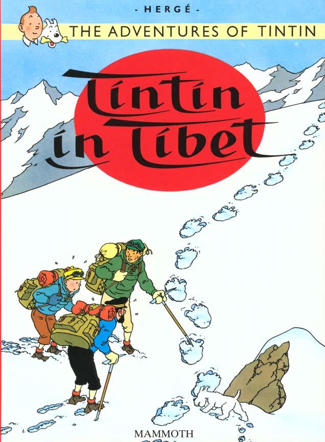TINTIN AU TIBET (EGMONT) - ANGLAIS