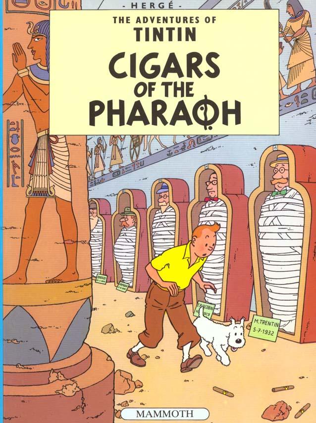 CIGARES DE PHARAON (EGMONT) - ANGLAIS