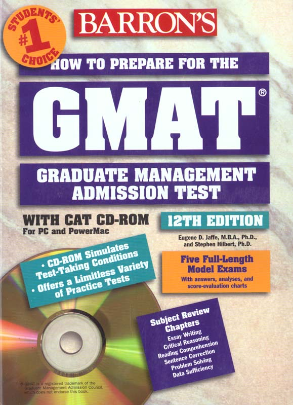 HOW TO PREPARE GMAT 12 TH (BOOK& CDROM