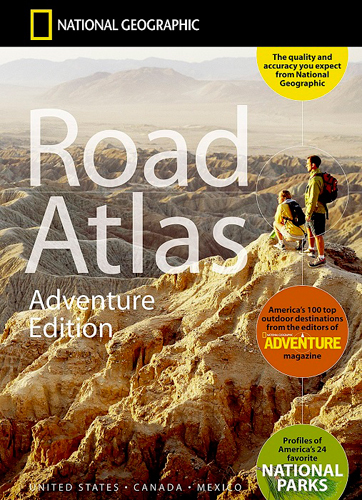 ROAD ATLAS UNITED STATES/CANADA/MEXICO