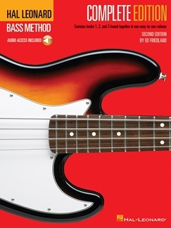 ELECTRIC BASS METHOD COMPLETE EDITION GUITARE BASSE +CD