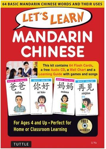 LET'S LEARN MANDARIN CHINESE KIT /ANGLAIS