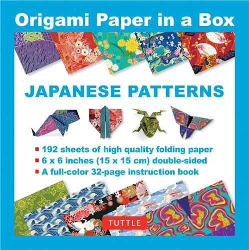ORIGAMI PAPER IN A BOX - JAPANESE PATTERNS /ANGLAIS