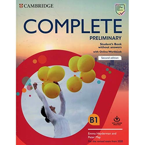 COMPLETE PRELIMINARY STUDENT'S BOOK WITHOUT ANSWERS WITH ONLINE WORKBOOK (2020)