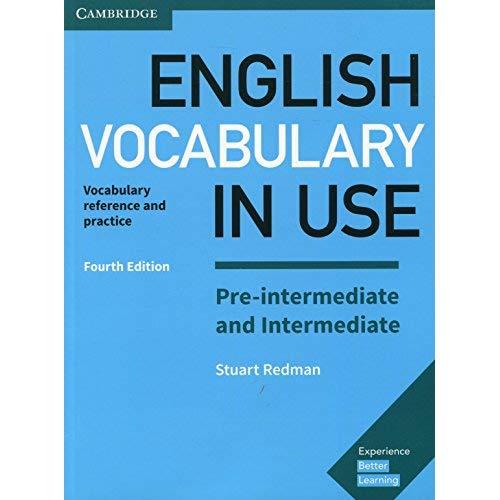 ENGLISH VOCABULARY IN USE PRE-INTERMEDIATE BOOK PAPERBACK