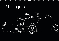 911 LIGNES CALENDRIER MURAL 2015 DIN A3 HORIZONTAL