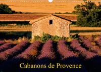 CABANONS DE PROVENCE (CALENDRIER MURAL 2020 DIN A3 HORIZONTAL) - AUTREFOIS, LES PAYSANS ALLAIENT AUX