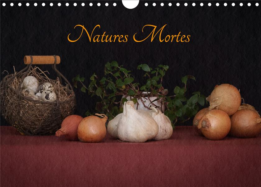 NATURES MORTES CALENDRIER MURAL 2020 DIN A4 HORIZONTAL - PHOTOGRAPHIES D ELEMENTS INTEM