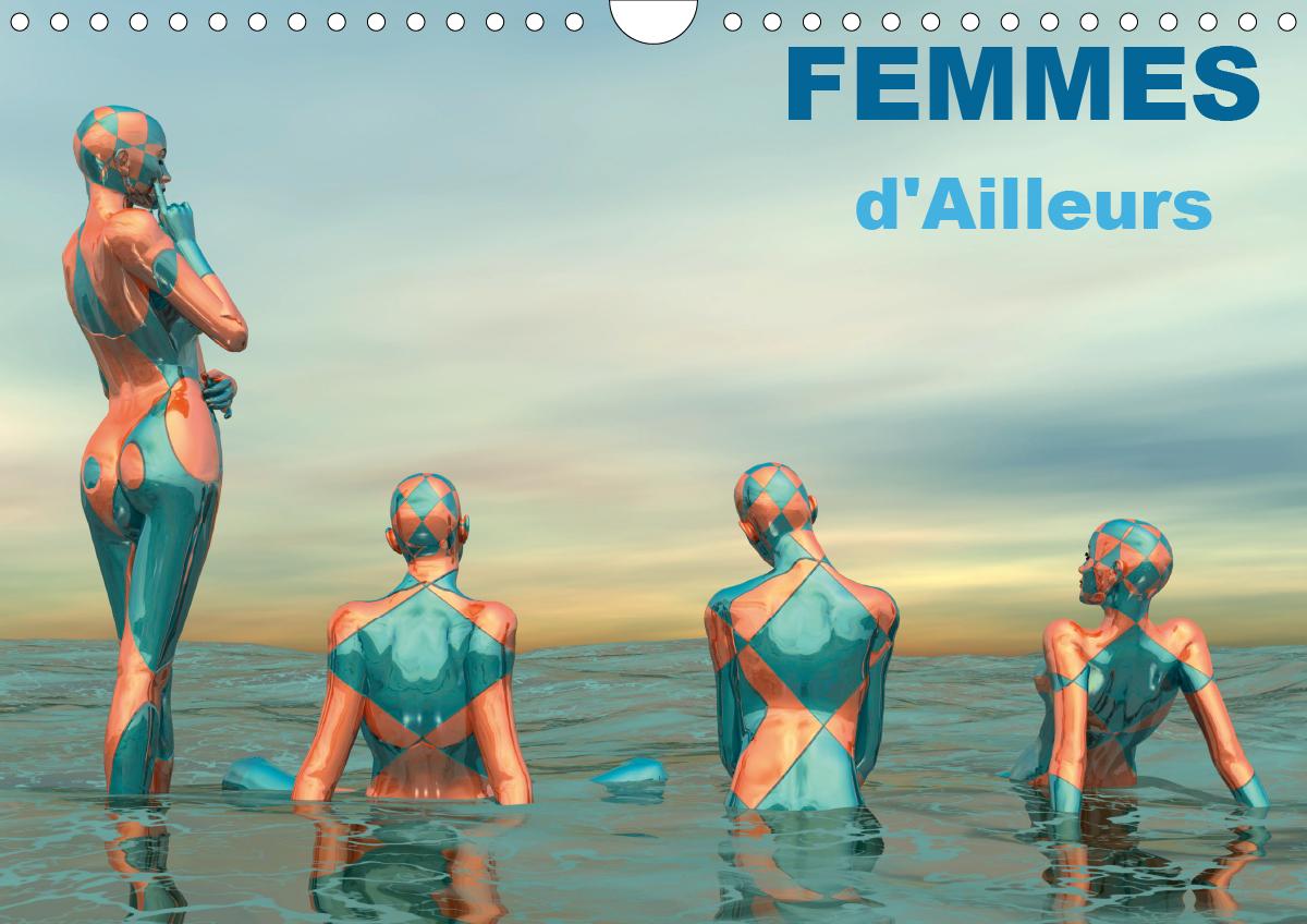 FEMMES D AILLEURS CALENDRIER MURAL 2020 DIN A4 HORIZONTAL - FEMMES MUSES DE MONDES DIFFERE