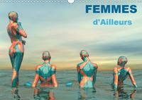 FEMMES D AILLEURS CALENDRIER MURAL 2020 DIN A3 HORIZONTAL - FEMMES MUSES DE MONDES DIFFERE