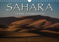 SAHARA - TERRE D'IMMENSITE (CALENDRIER MURAL 2020 DIN A4 HORIZONTAL) - LA BEAUTE SANS FIN, L'ETENDUE