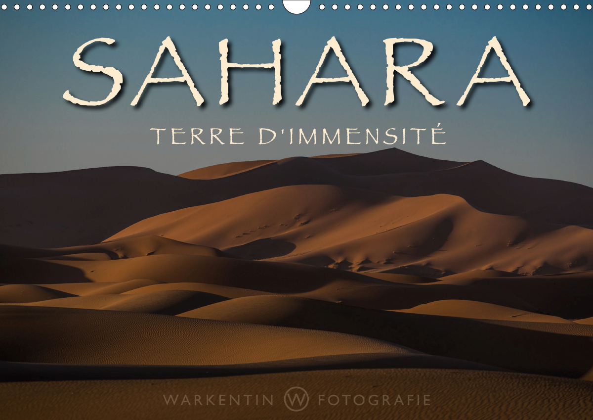 SAHARA - TERRE D'IMMENSITE (CALENDRIER MURAL 2020 DIN A3 HORIZONTAL) - LA BEAUTE SANS FIN, L'ETENDUE