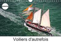 VOILIERS D'AUTREFOIS (CALENDRIER MURAL 2020 DIN A4 HORIZONTAL) - PHOTOS AERIENNES D'ANCIENS VOILIERS